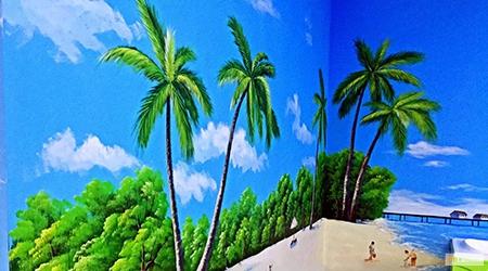 Beach & Tropical & swimming 3