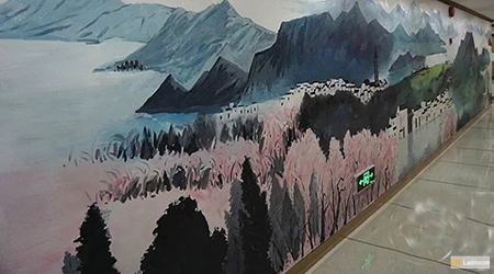 Chinese traditional landscapes paintings III