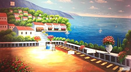 Mediterranean Landscapes Mural