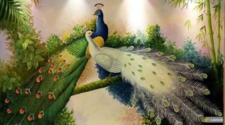 Peacock bird niche 2