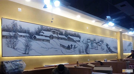snow village 1